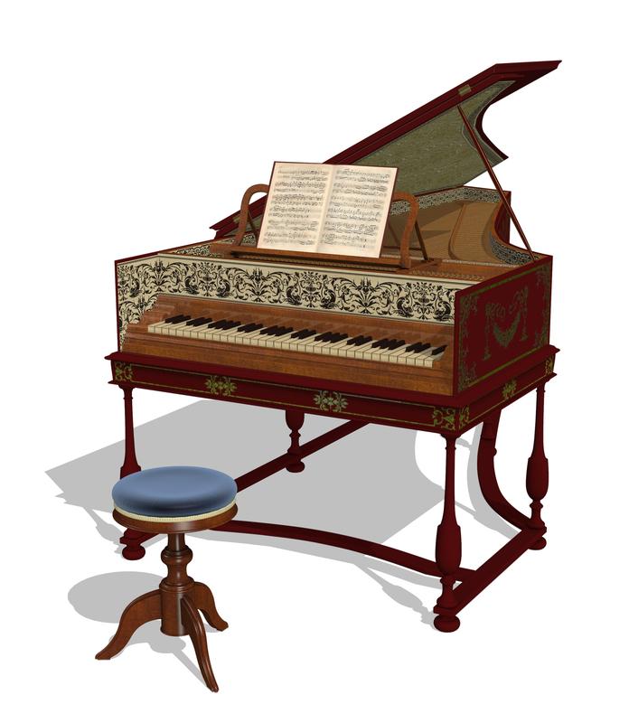 Harpsichord.