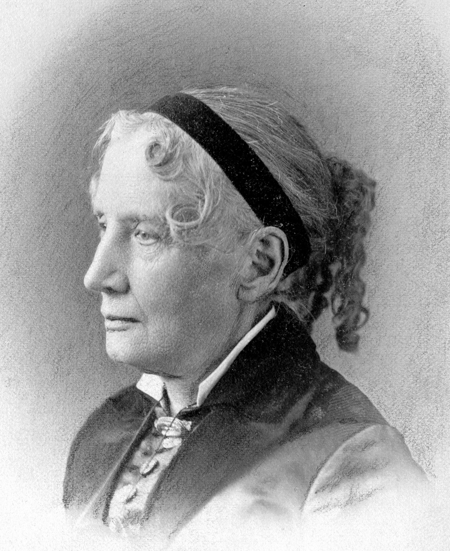 Image of Harriet Beecher Stowe.
