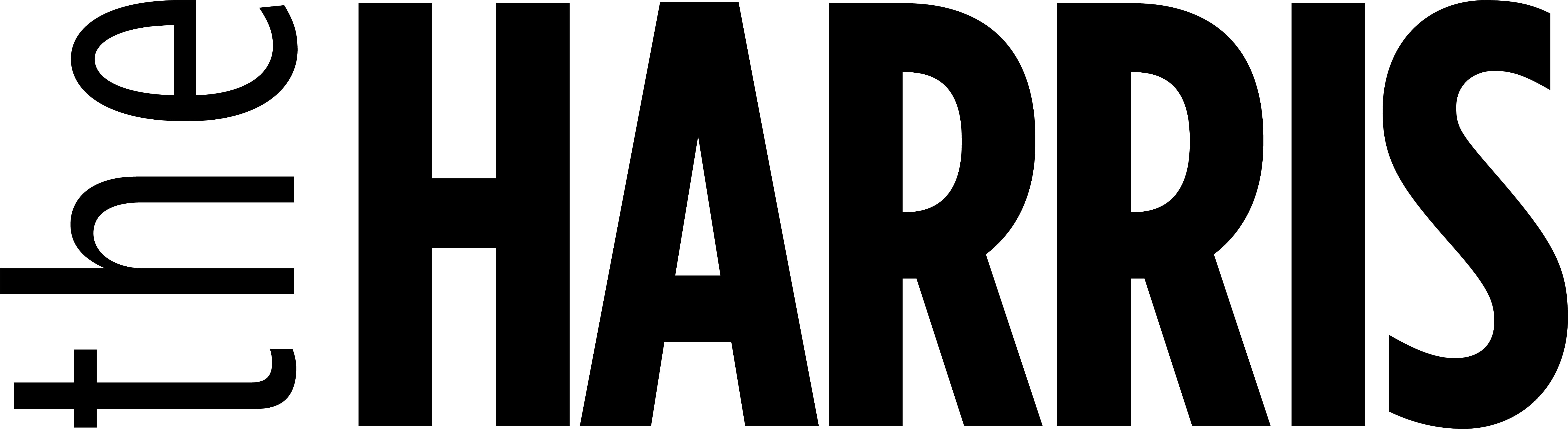 The Harris Logo 2019 BLACK (high res) (002).