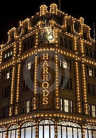 Harrods In London Editorial Stock Image.