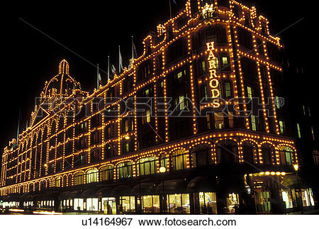 Picture of Harrods, London, England, Great Britain, United Kingdom.