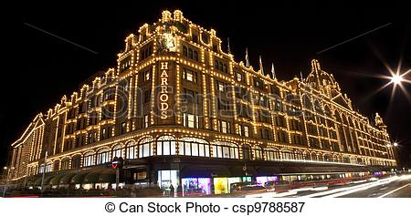 Picture of Harrods in London csp9788587.