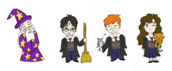 Harry potter clip art.