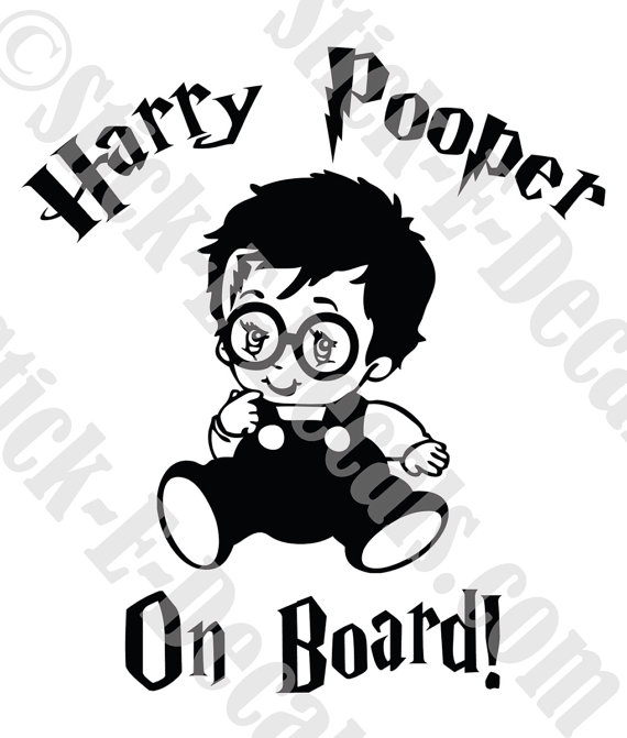 Harry Potter Baby Clipart.