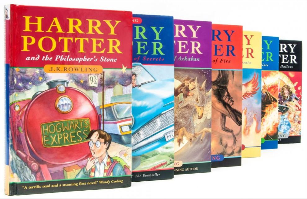 JK Rowling marks 20 years since Harry Potter appeared.