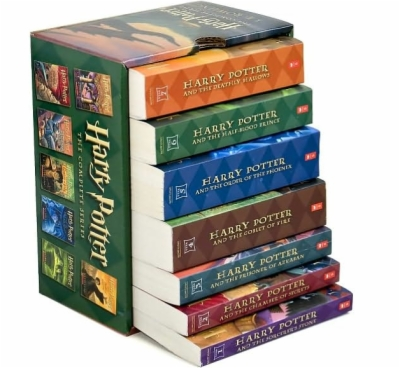 harry potter books png.