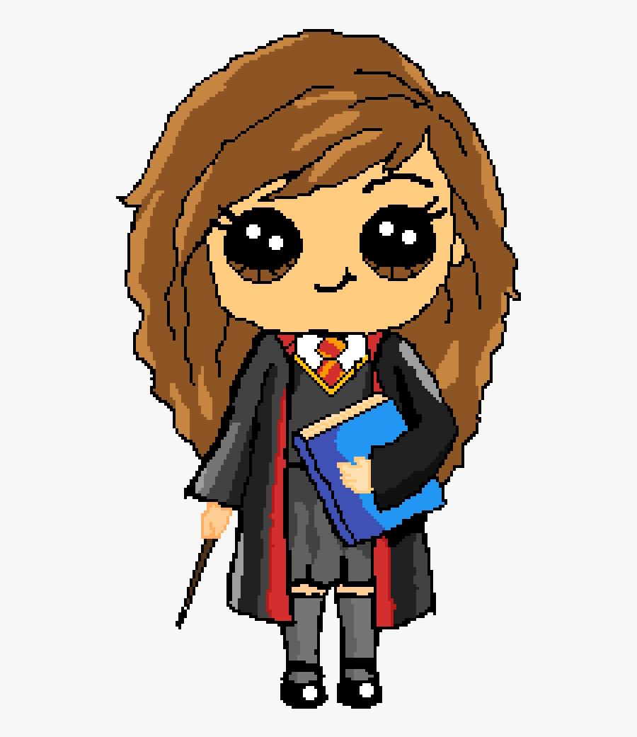 Hermione Granger Harry Potter Cute Kawaii Drawings.