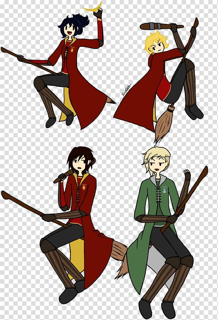 Quidditch Cartoon Harry Potter , broom transparent.