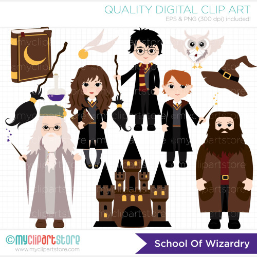 Harry potter characters clipart 1 » Clipart Station.