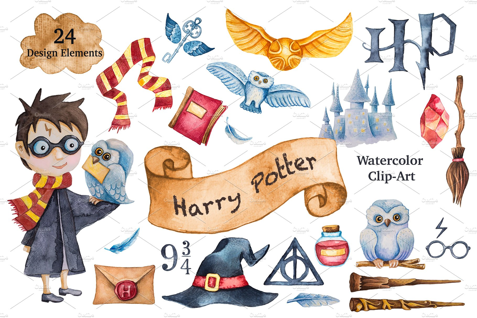 Free Harry Potter Clipart harry porter, Download Free Clip Art on.