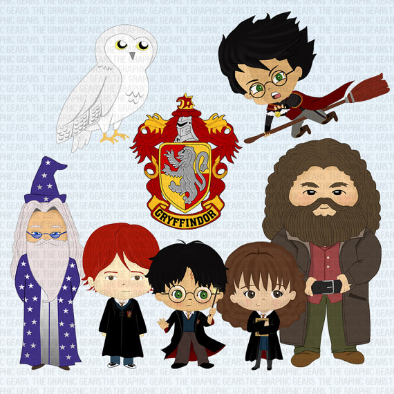 Harry potter characters clipart 5 » Clipart Station.