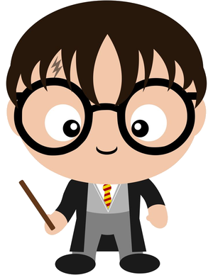 Harry Potter Clip Art PNG Transparent.