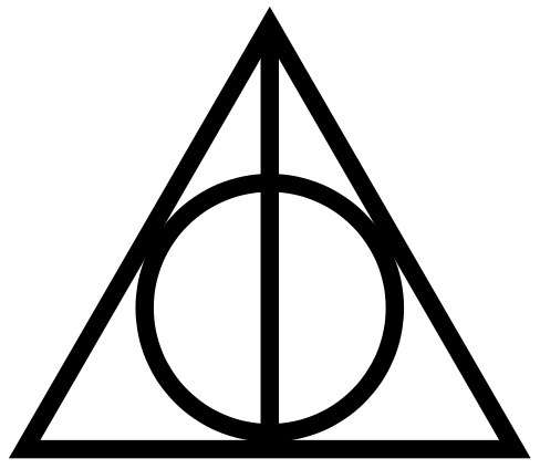Deathly Hallows Symbol.