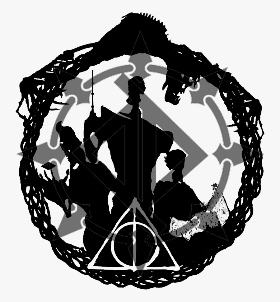 Transparent Harry Potter Clip Art Black And White.
