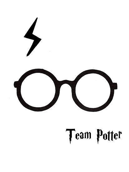 Harry Potter/Glasses and scar.
