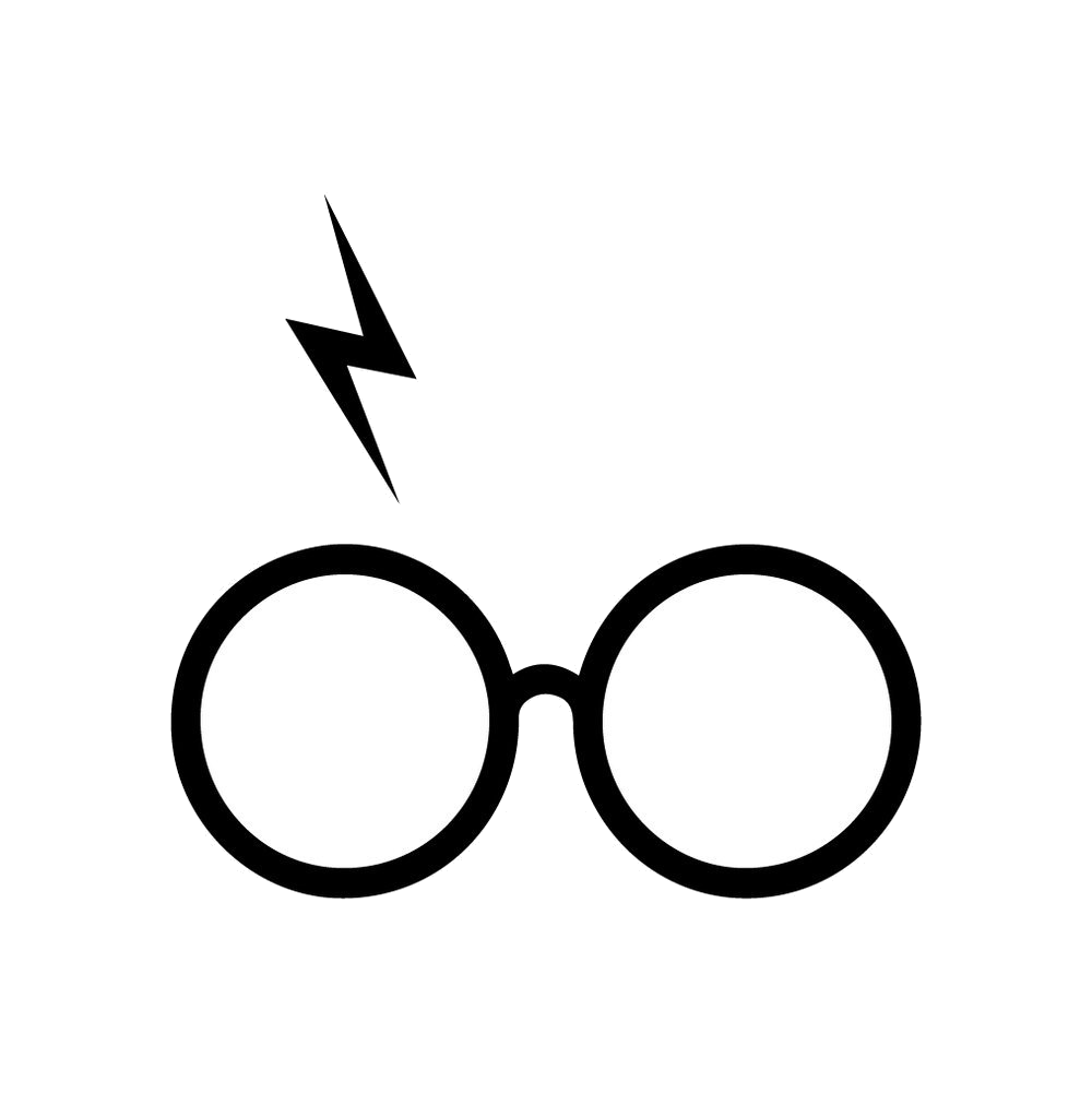 Harry Potter Glasses And Scar Clipart Transparent Png 2.