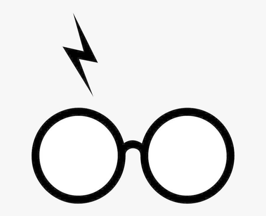 Harry Potter Glasses And Scar Clipart Transparent Png.