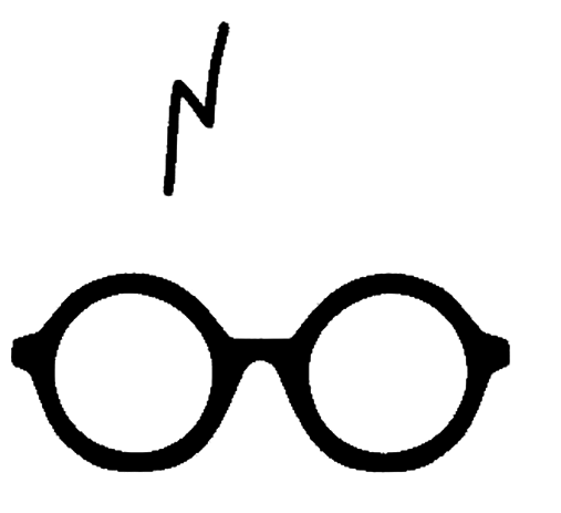 Harry Potter Glasses PNG Image.