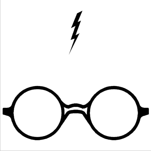 Harry Potter Glasses PNG Photos.