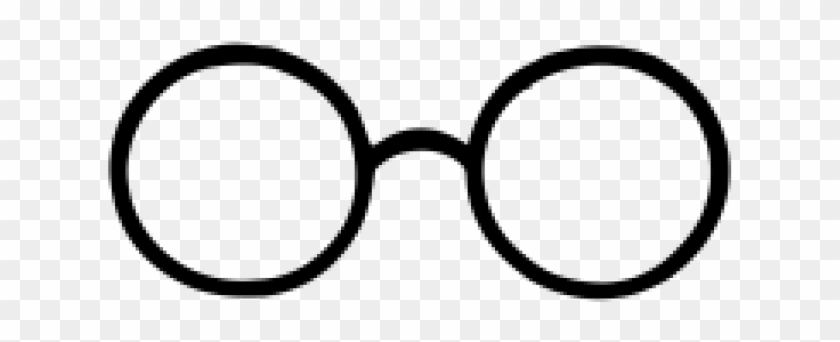 Drawn Glasses Harry Potter.