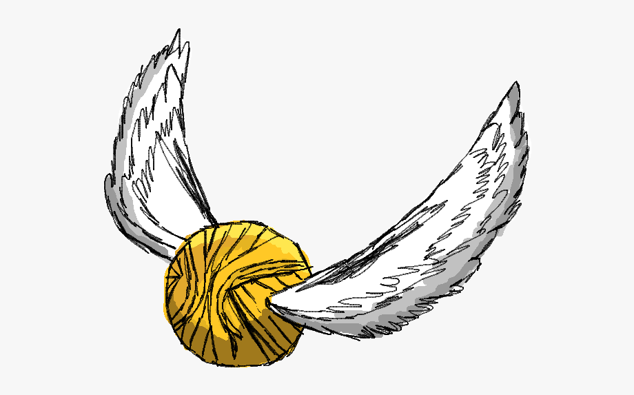 Harry Potter Golden Snitch Clip Art Free Image.