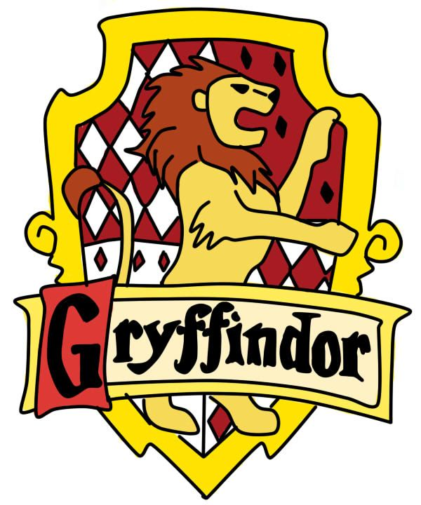 Harry Potter Gryffindor crest by redheadroulette on.