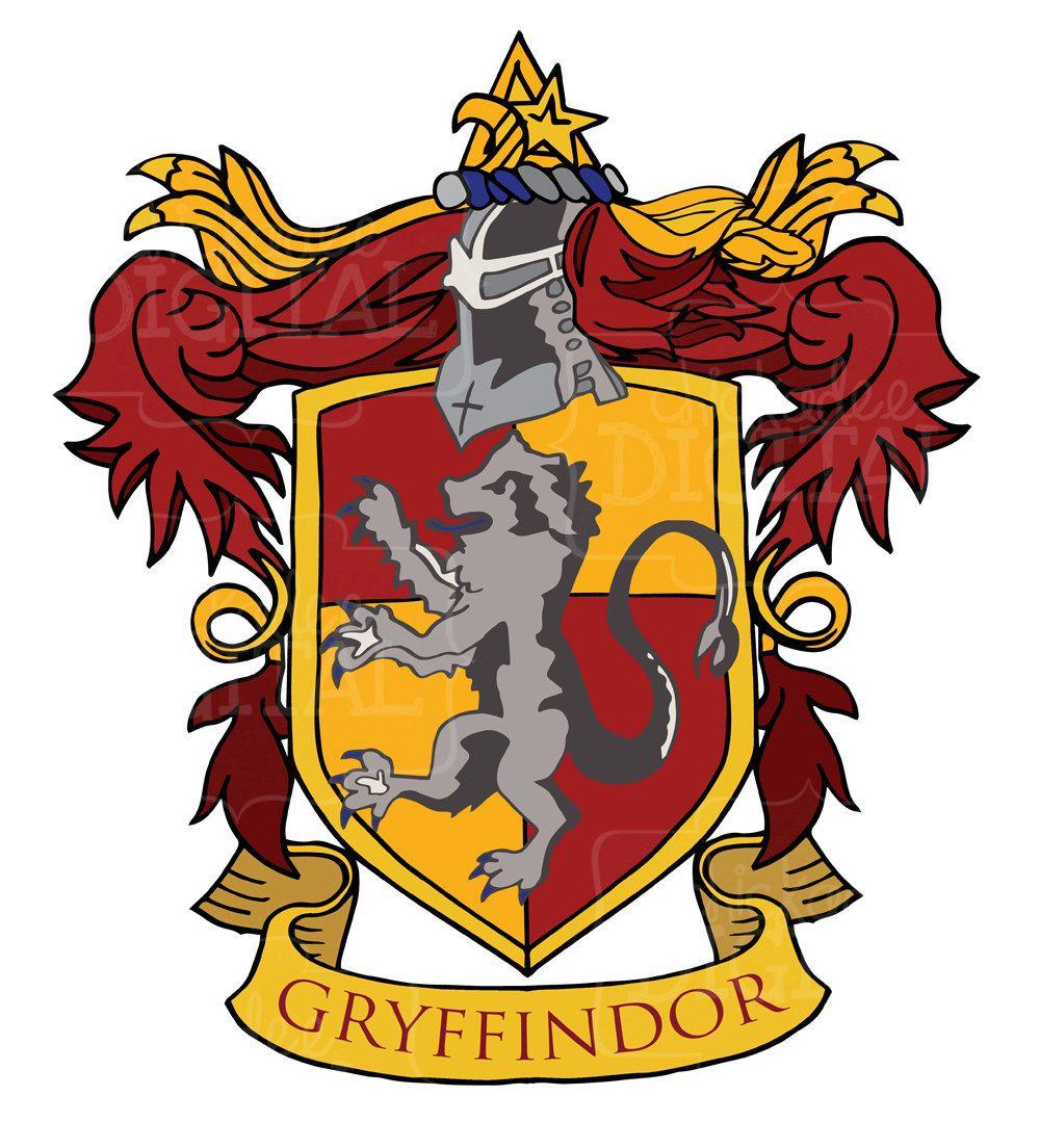 Gryffindor crest in 2019.