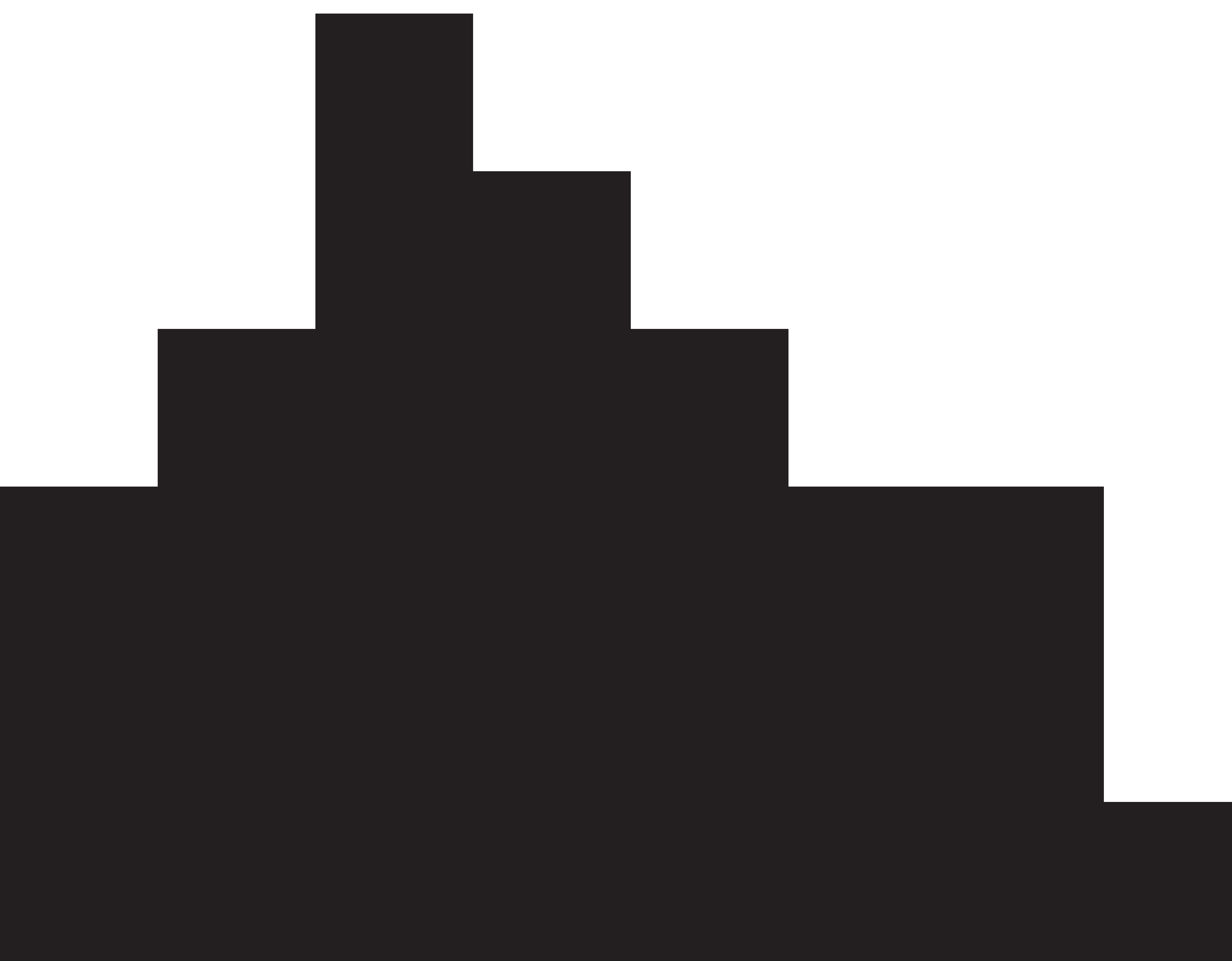 8000x6241 Hogwarts Castle Silhouette Clipart.