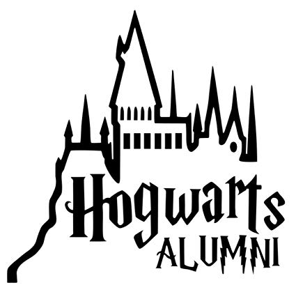 Collection of Hogwarts clipart.