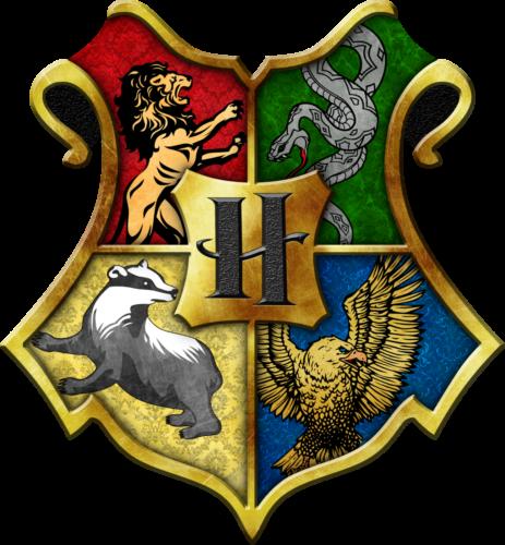 Harry potter Hogwarts house (LOGO).