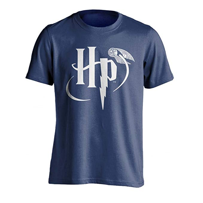 Amazon.com: HARRY POTTER Official Mens HP Logo T.