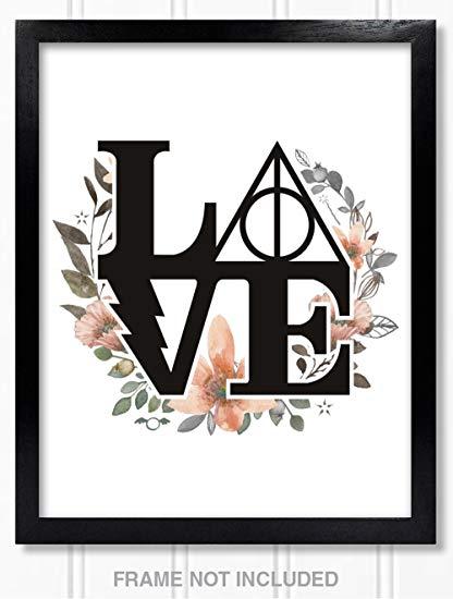 Confetti Fox Harry Potter Poster Wall Decor Gift.