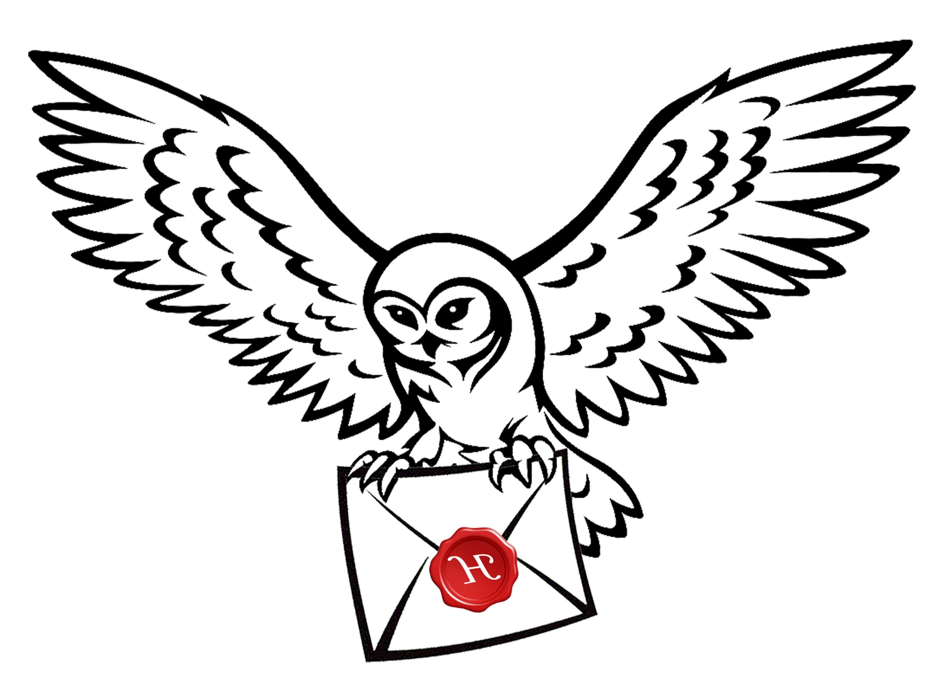 Owl Harry Potter Drawing Clip art Image.