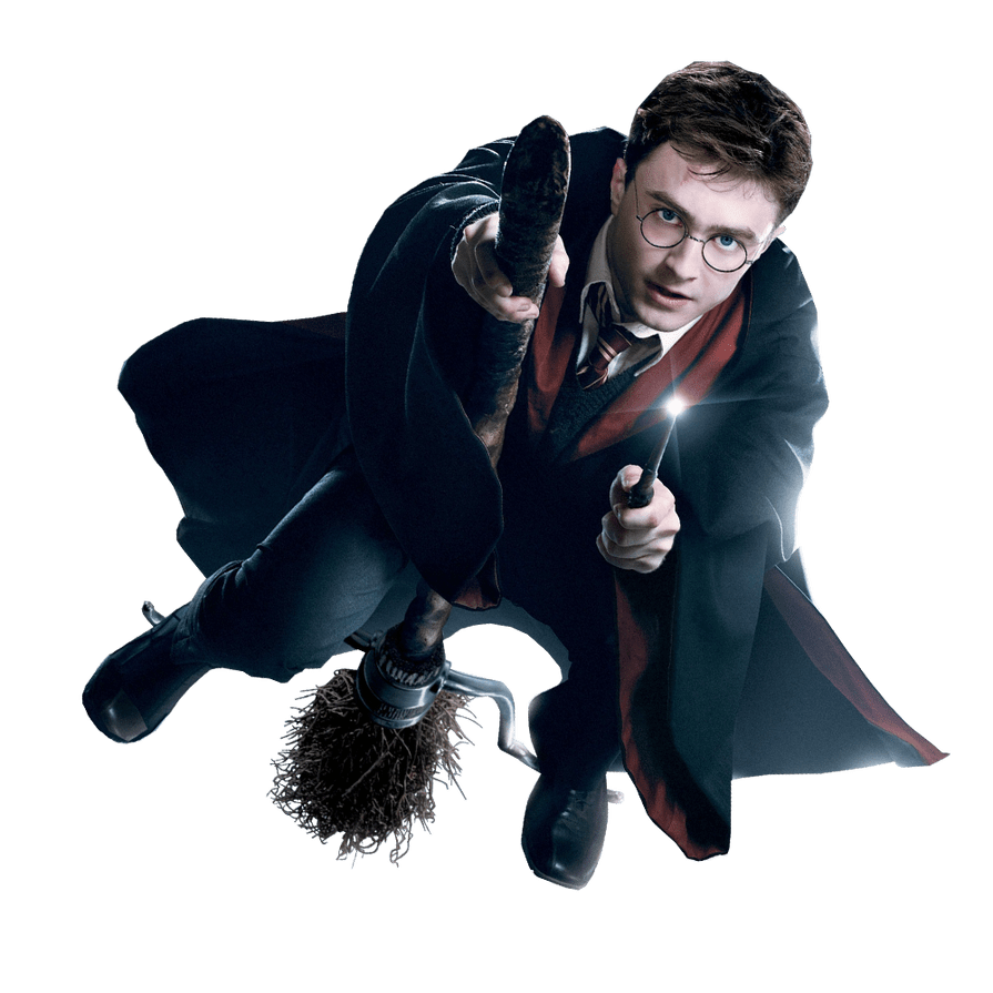 Harry Potter transparent background image.