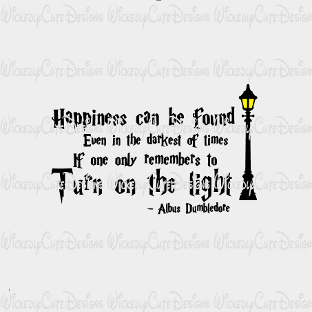 Harry Potter Happiness Quote SVG, DXF, EPS, PNG Digital File.