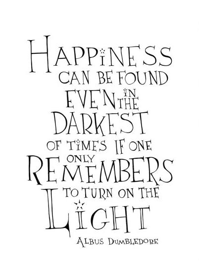 Albus Dumbledore Quote Poster.