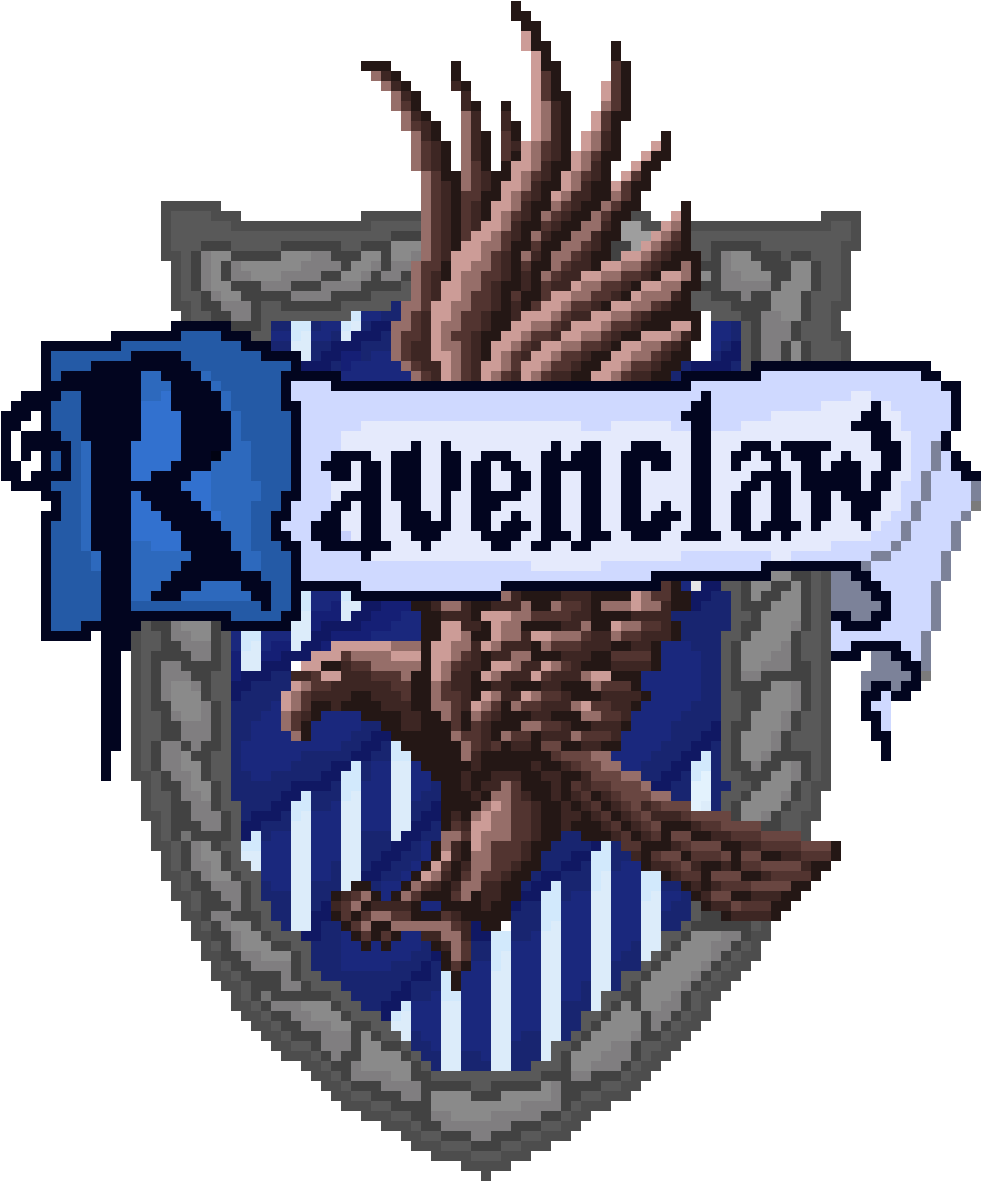 Ravenclaw House Harry Potter Ravenclaw Cross Stitch.
