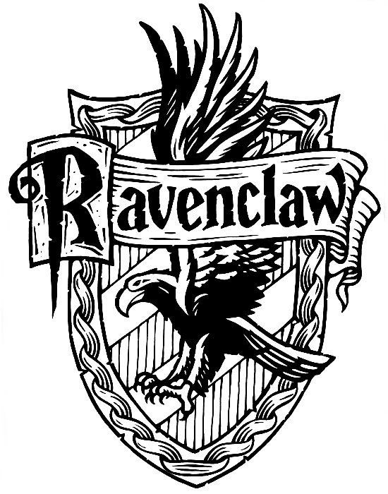 Harry Potter Coloring Pages Ravenclaw.