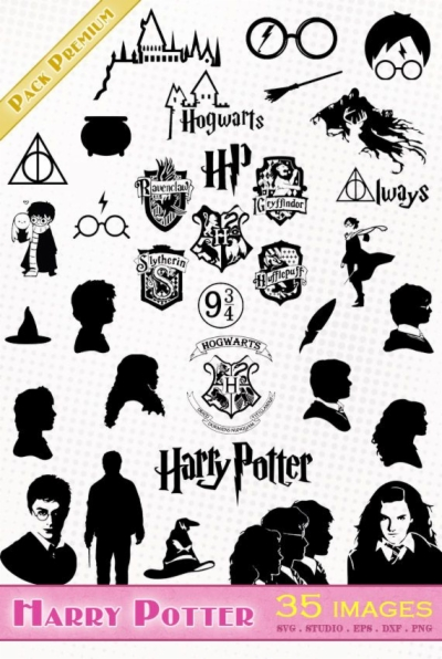 harry potter silhouette png at sccpre.cat.