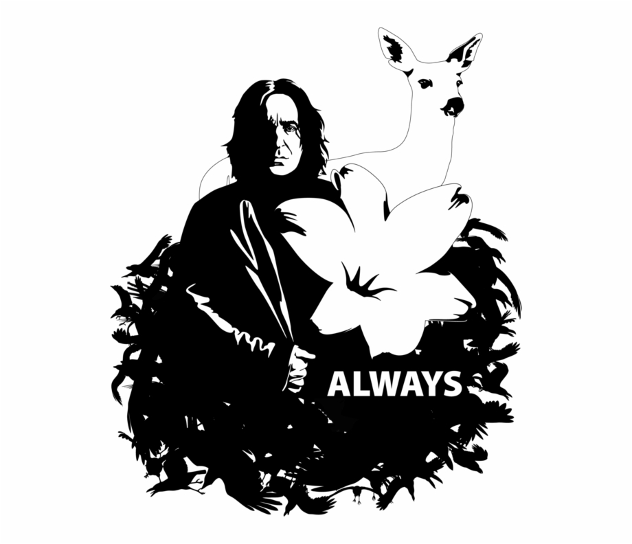 Snape By Mad42sam Clipartlook Snape Harry Potter Vector.