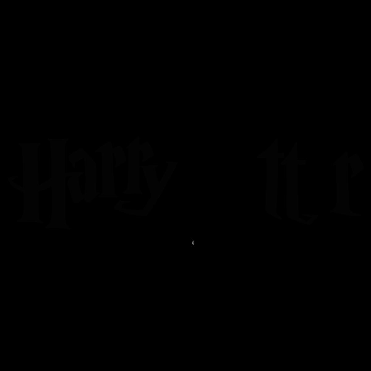 Harry Potter Logo Vector.