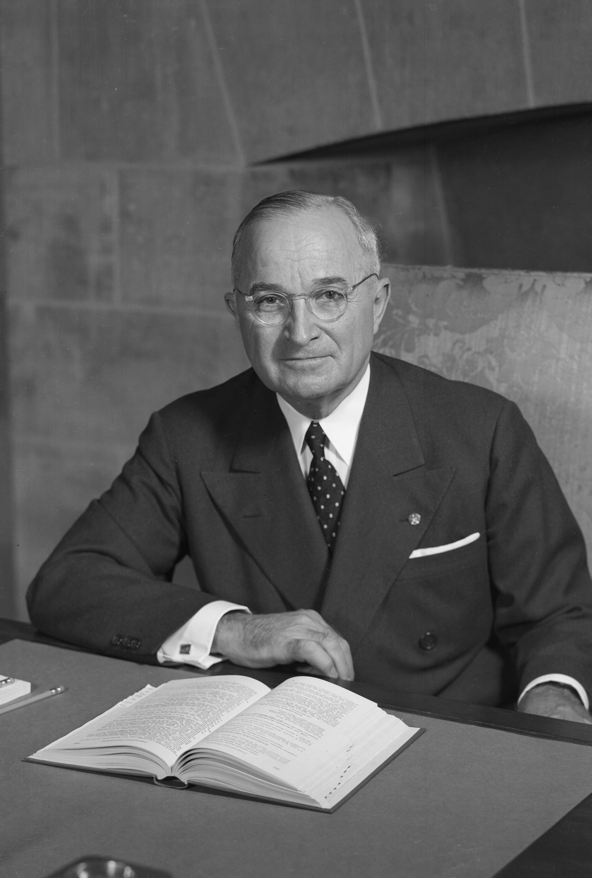 Harry S. Truman Portrait.