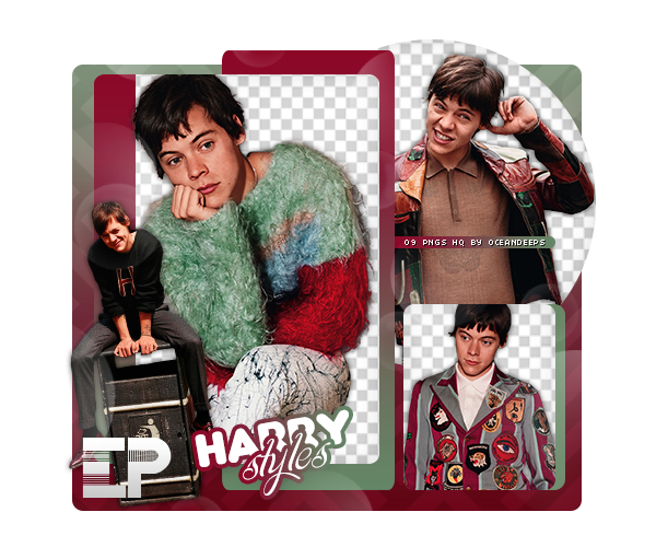 PACK PNG 156 // HARRY STYLES by ELISION.
