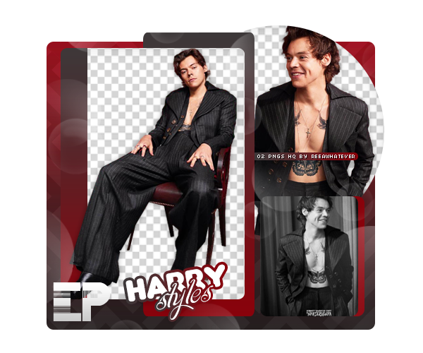 PACK PNG 192 // HARRY STYLES by ELISION.