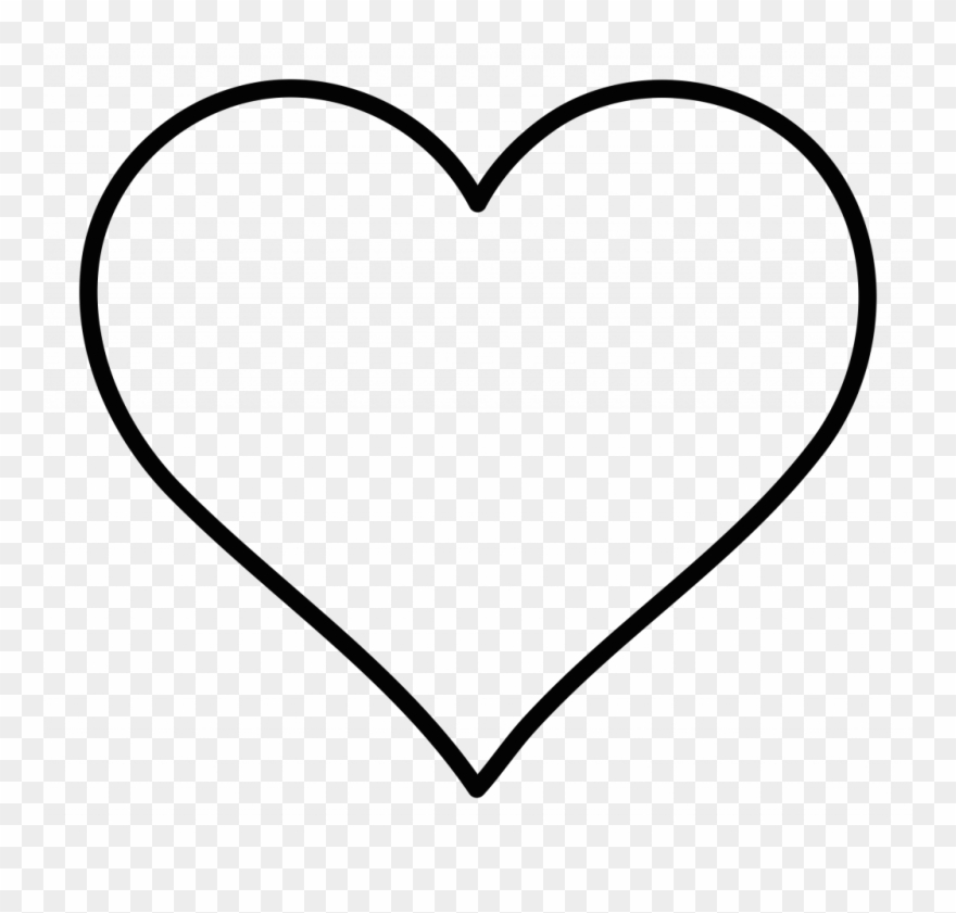Super Cool Ideas Clip Art Of Heart Clipart Outline.