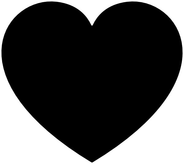 Heart Clipart Black & Heart Black Clip Art Images.
