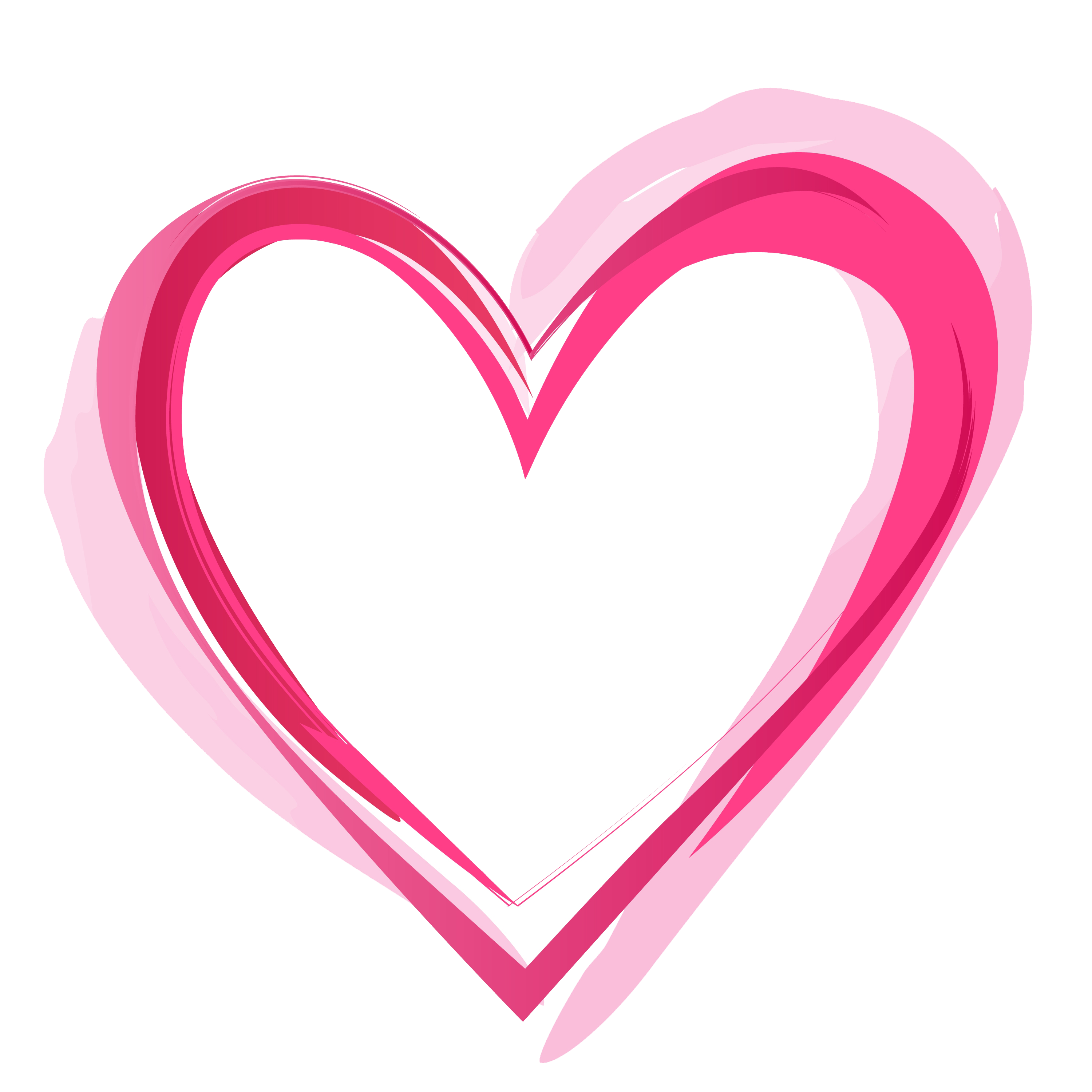 Pink Love Heart PNG HD Transparent Pink Love Heart HD.PNG Images.