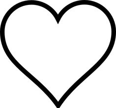 Heart shaped clipart