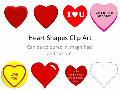 3d Heart Shaped Clipart.