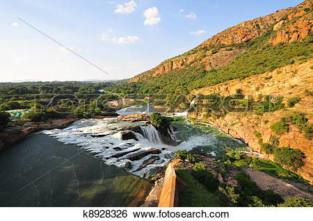 Stock Images of Hartbeespoort Dam k8928326.